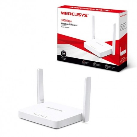 ROTEADOR WIRELESS MERCUSYS MW301R 300MBPS