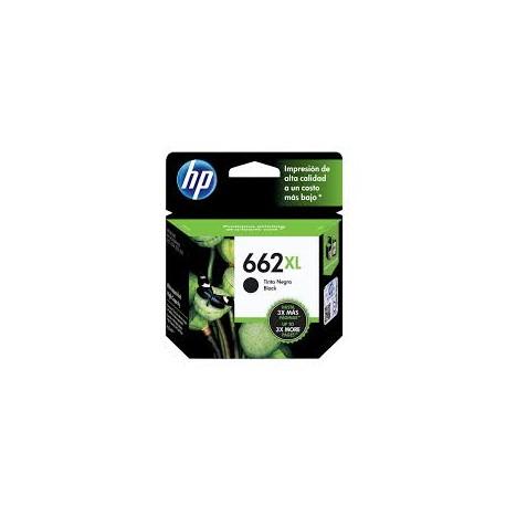 CARTUCHO HP 662XL PRETO - CZ105AB